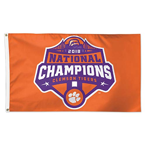 Clemson Tigers 2018 Football National Champions 3x5 - National Champions Football