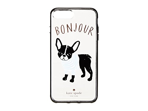 - Kate Spade New York Women's Bonjour Phone Case for iPhone 7 Plus/iPhone 8 Plus Clear Multi One Size