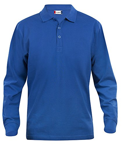 Manches Bleu L Longues Coton Roi Moyen Classique X Poids Polo À 11 Homme Coupe nbsp;couleurs Adulte Pour BwC4ERq5nZ