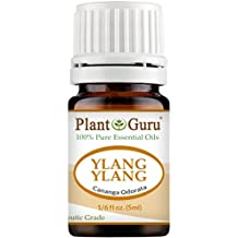 Ylang Ylang Essential Oil 5 ml. 100% Pure Undiluted Therapeutic Grade.