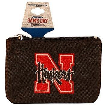 (NCAA Nebraska Cornhuskers Keychain Coin Purse Divided