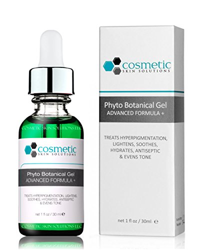Cucumber Cosmetics (Best Phyto + Botanical Gel for Hyperpigmentation. 30 mL / 1 oz. Lightening formula contains thyme, cucumber, kojic acid, arbutin & bearberry leave extract.)