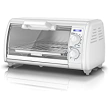 Applica / Spectrum Brands TRO420, horno eléctrico tostador con capacidad para 4 rebanadas de pan, 1, Blanco