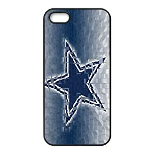 Custom Dallas Cowboys NFL Series Back Cover Case for iphone 5,5S JN5S-1887