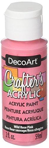 Pink Acrylic Rose - 5