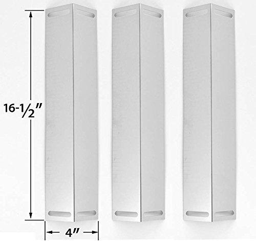 Amazon.com: Pack de 3 acero inoxidable calor Placa para ...