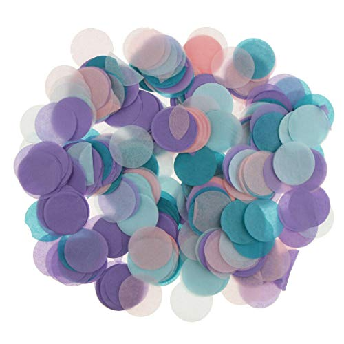 - 30g Round Tissue Paper Throwing Confetti Party Balloon Confetti Wedding Decor |Color - #7|