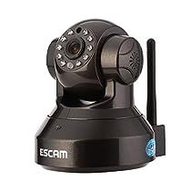 ESCAM Pearl Qf100 with Us Plug&play P2p Wi-fi Pan Tilt Ir Cut Two Way Audio Micro Sd Card Slot Ip Camera
