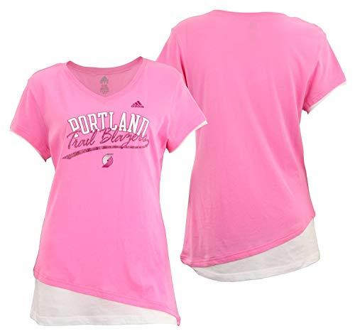 Asian Wearing Portland Blazer Jersey: Portland Trail Blazers Pink Jersey, Trail Blazers Pink