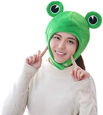 super soft babies frog hat