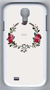 Samsung Galaxy S4 I9500 White Hard Case - Retro Pattern Galaxy S4 Cases