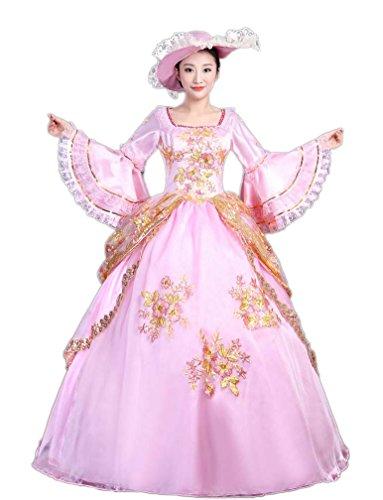 Zukzi Women's Gothic Victorian Lolita Masquerade Dresses Ball Gowns, US 4, #Y225 by Zukzi