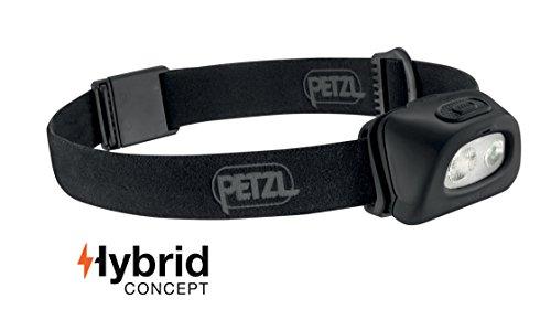 PETZL - TACTIKKA+ RGB Headlamp, 250 Lumens, Red-Green-Blue Lighting, Black by PETZL