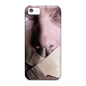 Hot Hugh Laurie With Mouth Plastered First Grade Tpu Phone Case For Iphone 5c Case Cover