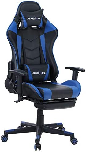 ALPHA HOME Gaming Chair Ergonomic Office Chair Racing Chair