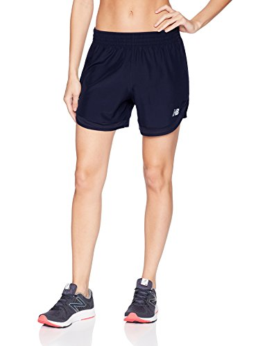 New Balance Womens Accelerate 5 Short Without Brief, Pigment, Medium