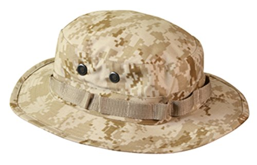 Rothco Boonie Hat Desert Digital Camo - (8) Inch (Tactical Digital Camo)