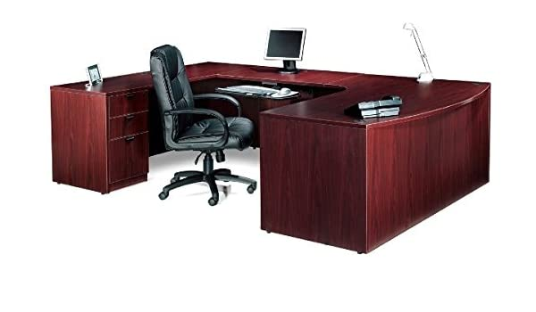 Amazon.com : Offices To Go Executive U Shaped Desk W/Drawers ...