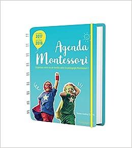 Agenda familial Montessori 2017-2018 Vie Quotidienne: Amazon ...