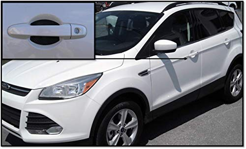 Door Handle Trim Magnetic Door Cup Paint Scratch Protector Cover Accessories for Ford Escape (4 Pcs) MADS in USA