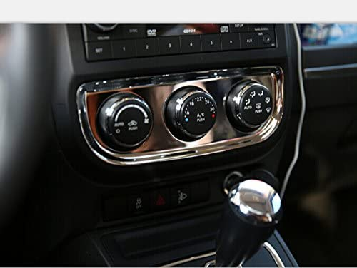 YUZHONGTIAN 2011-2015 for Jeep Patriot Inner Accessories Air Conditioner Switch Button Trim ABS