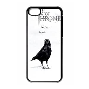YUAHS(TM) New Cell Phone Case for Iphone 5C with Game of Thrones YAS139300