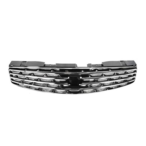 (Koolzap For NEW Front Grill Grille Assembly Chrome IN1200107 62070AM800 03-07 G-35 Coupe)
