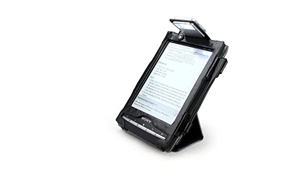 Aquarius - Funda de cuero para eBook Sony PRS-T1 Wi-Fi con luz LED ...