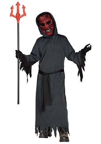 Devil Boy Costume (Smoldering Devil Kids Costume (Medium))