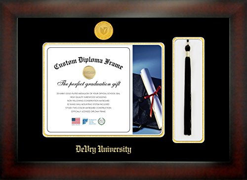 devry-university-8-1-2-x-11-mahogany-finish-infinity-diploma-frame-with-tassel-box-by-celebration-fr