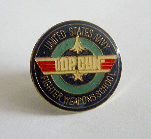 - Popular Enamel Lapel pins - New US Navy Fighter Weapons School Top Gun Lapel Pin New - Fashion Pins and Brooches