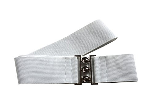 6b3884537e0306 agrafa 5cm Damen Taillen Stretch Gürtel Matall Schnalle Größe XS-XL:  Amazon.de: Bekleidung
