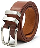 Ossi 38mm Tan Belt with Double Loop for Men - XXL