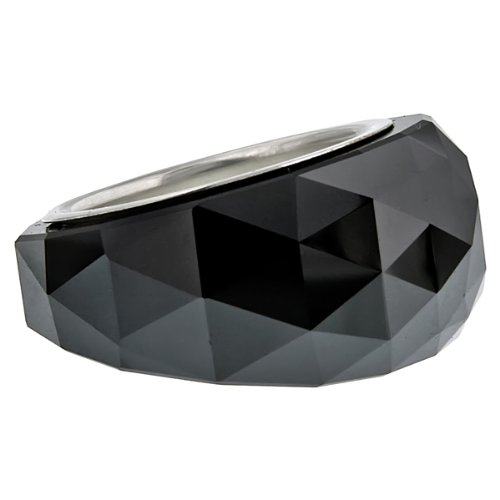 49bdf8b52fb0 Swarovski Nirvana Petite Jet Hematite Ring Size 8 1166805  Amazon.ca   Watches