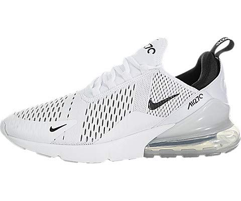 sneakers for cheap c2b94 a88b0 Galleon - Nike Air Max 270 Men s Running Shoes White Black-White AH8050-100  (11.5 D(M) US)