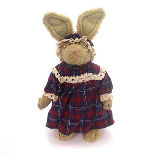 Boyds Bears Plush EMILY BABBIT Fabric Bunny Rabbit Granny Glasses 915015