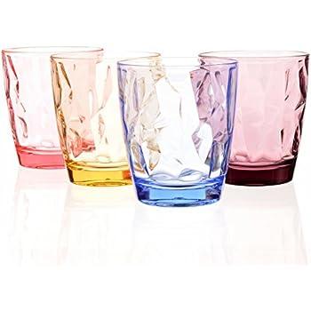 Amazon Com 8 Oz Premium Juice Glasses Set Of 4