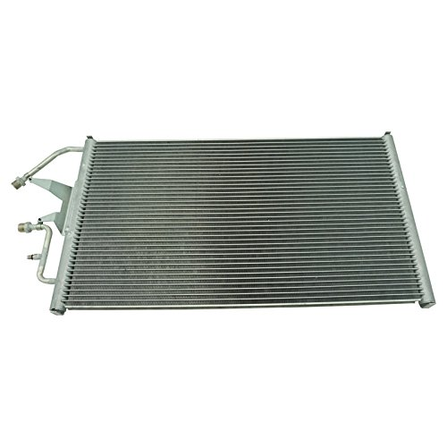 C1500 Suburban A/c Condenser (AC Condenser A/C Air Conditioning with Receiver Drier for Chevy GMC Pickup Truck)