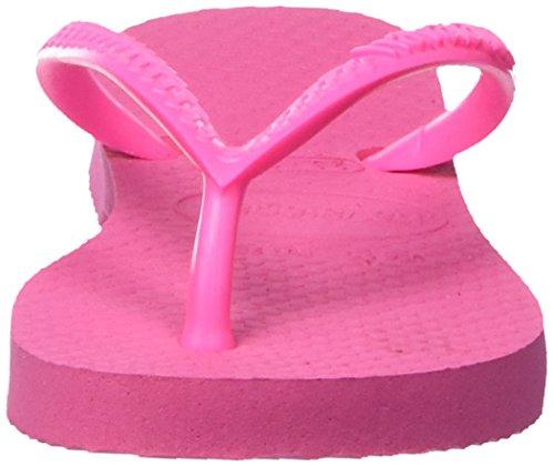 Havaianas Tongs Femme Slim, Pink (Shocking Pink/Shocking Pink 8447), 25/26 EU(23/24 Brazilian)