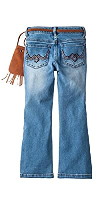 Squeeze Girls Bootcut Denim Jeans with Purse