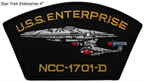 (Star Trek TNG USS Enterprise NCC-1701-D Logo 6