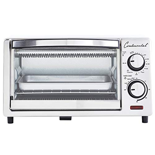 Used, Continental Electric CE-TO101 Toaster Oven, 4-Slice, for sale  Delivered anywhere in USA