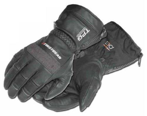 (Firstgear TPG Cold Weather Riding Gloves 2013 Black M/Medium)