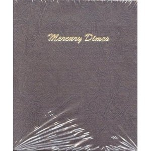Dimes Dansco Coin Album (Dansco Coin Album #7123 for Mercury Dimes: 1916-1945)