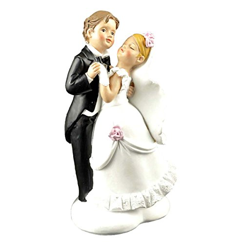 ENNAS Wedding Gifts for the Couple Bride and Groom Couple Wedding and Anniversary Cake Topper Figurine