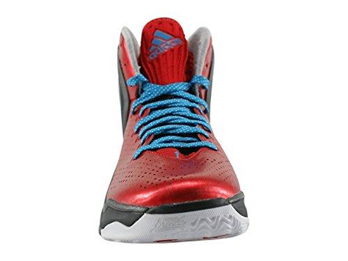 online store c453a 93c95 adidas Derrick Rose 5 Boost Enfant Basketball Baskets   Sneakers Rouge 39  1 3  Amazon.fr  Sports et Loisirs