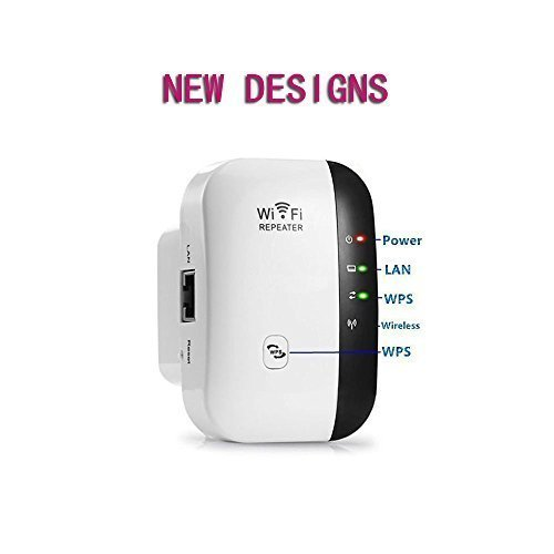WiFi Range Extender WiFi Booster Wireless Repeater WiFi Extender Antenna AP/Repeater Long Range Extender Integrated Antenna,RJ45 Port, WPS Dual Band 300Mbps 2.4GHz (300Mbps) by FDG (Image #5)