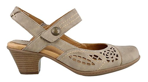 Earth Women's Bantam Closed Toe Sandal,Stone Vintage Leather,US 6 M (Vintage Footwear Leather)