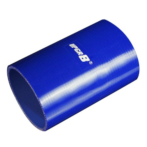(Upgr8 Universal 4-Ply High Performance Straight Coupler Silicone Hose 152MM Length (3.5