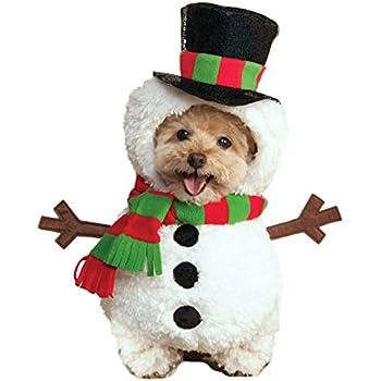 Rubies Costume Walking Snowman Pet Costume, Large